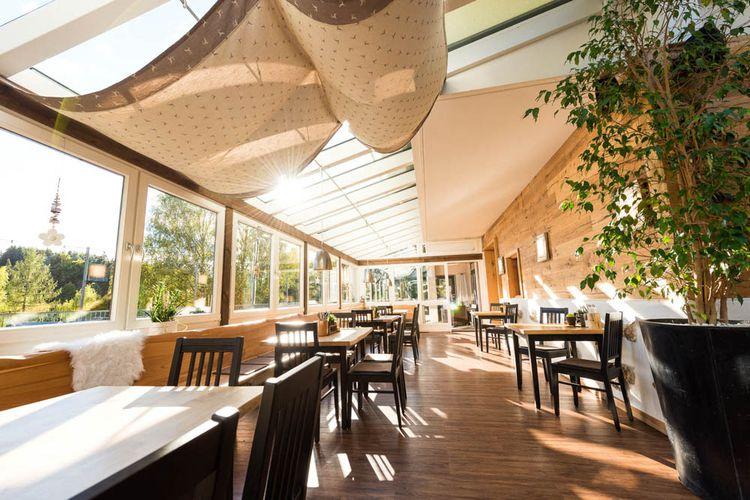 Restaurant in Eging am See Wintergarten