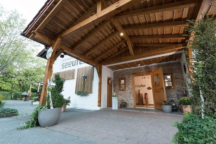 Eingangsbereich Wirtshaus Seeufer Eging am See